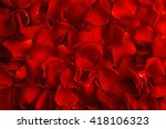 Stock photo rose petals closeup 418106323
