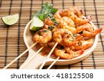 Shrimp Sriracha Kebabs With...