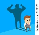 conceptual illustration of... | Shutterstock .eps vector #418127959