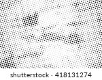 abstract halftone background | Shutterstock . vector #418131274