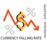 currency icon. business and... | Shutterstock .eps vector #418133794