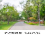 abstract blur city park bokeh... | Shutterstock . vector #418139788