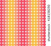vector cute abstract seamless... | Shutterstock .eps vector #418158250