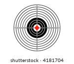 target | Shutterstock . vector #4181704
