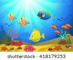 vectorial illustration of a... | Shutterstock .eps vector #418179253