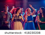 party  holidays  celebration ... | Shutterstock . vector #418230208