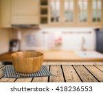 3d rendering kitchenware on... | Shutterstock . vector #418236553