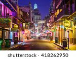 new orleans  louisiana   may 10 ... | Shutterstock . vector #418262950