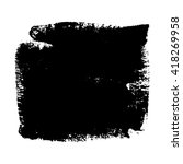 grunge texture design. vector... | Shutterstock .eps vector #418269958
