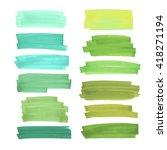color  highlight  stripes ... | Shutterstock .eps vector #418271194