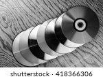 video cassettes and discs | Shutterstock . vector #418366306