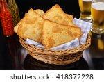popular brazilian pastry  | Shutterstock . vector #418372228