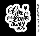conceptual hand drawn phrase... | Shutterstock .eps vector #418372648