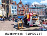 utrecht  netherlands   april 20 ... | Shutterstock . vector #418403164