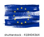 european union colorful brush... | Shutterstock .eps vector #418404364
