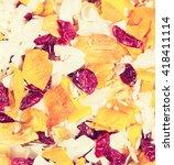 dried fruit mixture of... | Shutterstock . vector #418411114
