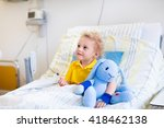 little boy playing with his toy ... | Shutterstock . vector #418462138
