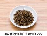 tea leaves japan | Shutterstock . vector #418465030