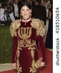 Small photo of New York City, USA - May 2, 2016: Tabitha Simmons attends the Manus x Machina Fashion in an Age of Technology Costume Institute Gala at the Metropolitan Museum of Art
