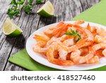 Boiled Tails Of King Shrimps O...