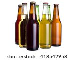 group of unlabeled variety of... | Shutterstock . vector #418542958