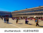 venice  italy  september 20 ...   Shutterstock . vector #418546900