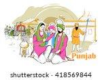 easy to edit vector... | Shutterstock .eps vector #418569844