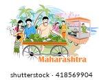 easy to edit vector... | Shutterstock .eps vector #418569904