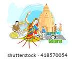 easy to edit vector... | Shutterstock .eps vector #418570054