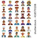 easy to edit vector...   Shutterstock .eps vector #418570108