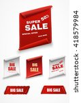 big sale banner.super sale... | Shutterstock .eps vector #418579984