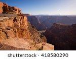 skywalk  grand canyon | Shutterstock . vector #418580290