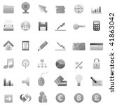 big set of web icons 2 | Shutterstock .eps vector #41863042