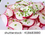 spring salad with radishes and...