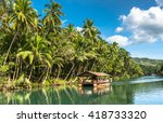 Traditional Raft Boat On A...