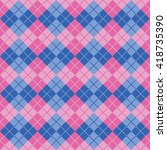 Seamless Argyle Pattern In...
