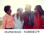 tourism  travel  people ... | Shutterstock . vector #418808179