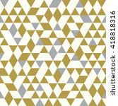 seamless golden pattern of...   Shutterstock .eps vector #418818316