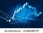 close up of finance business...   Shutterstock . vector #418848079