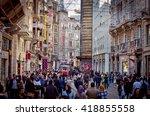 istanbul turkey apr 22 ... | Shutterstock . vector #418855558