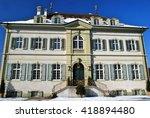 Historical Wenkenhof Villa in Riehen bei Basel