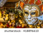 Traditional Venetian Mask In...