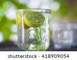 lemon drink   Shutterstock . vector #418909054