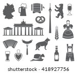 traditional symbols of culture  ... | Shutterstock .eps vector #418927756