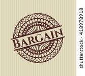 bargain rubber grunge texture... | Shutterstock .eps vector #418978918