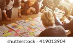 Small photo of Business Corporation Organization Teamwork Concept
