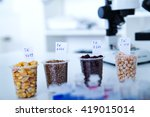 chemical laboratory of the food ... | Shutterstock . vector #419015014