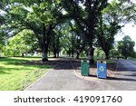 canopy shade road in flagstaff... | Shutterstock . vector #419091760