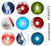 Christmas Cd Dvd Labels