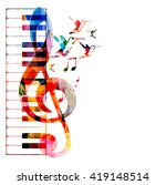 vector illustration of colorful ... | Shutterstock .eps vector #419148514